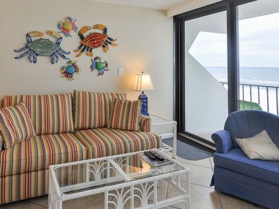 Photo for Island Winds One Bedroom ~ Balcony on the Beach!