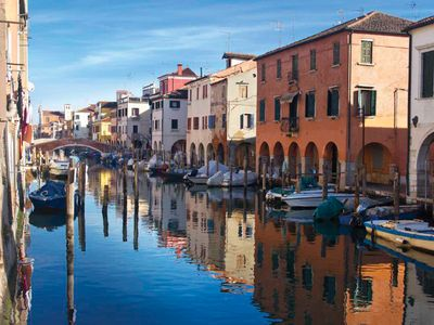 Photo for Entire home on the Vena canal in the heart of Chioggia