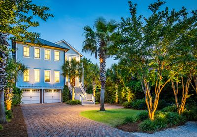 Luxury Custom Home 7 Bdrm Ocean Views Heatable Private Pool Elevator Isle Of Palms