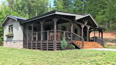 Photo for Walk to DuPont Forest - New cabin designed for relaxation and comfort.