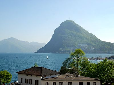 Photo for Apartment Residenza Cassarate Lago in Lugano - 4 persons, 2 bedrooms