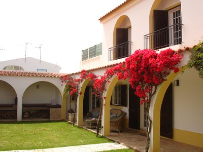 Photo for Stunning 6 bed villa with pool, walking distance to beach. licence no. 11362/AL