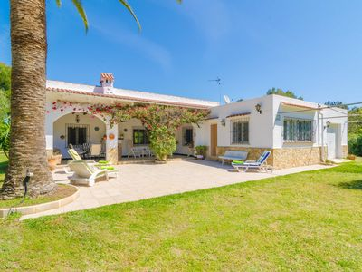 Photo for CASA MARIA (VILA COVETES) - Chalet with private garden in Ses Covetes.