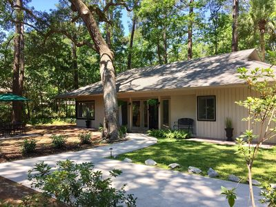 Photo for Sea Pines Home, 13 Minute Walk to the Beach! Cleaning fees included in rental!