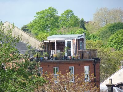 Photo for City Heights - Rooftop Garden apartment, Norwich