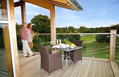 Photo for Crispin a luxury penthouse lodge in the peaceful surroundings of Constable Country in Suffolk.