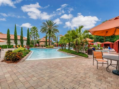 Photo for Luxury 4 Bedroom Villa Near Disney