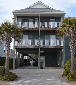 Photo for Beautiful..Oceanfront,  Swimming Pool, beach access, Minutes to Surf City
