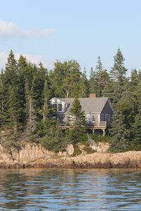 Paul's Cottage from our friend's boat