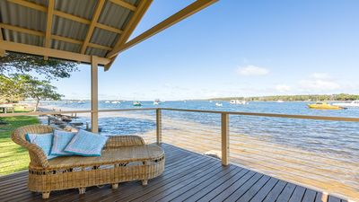 Photo for Bluewater - riverfront location with water views