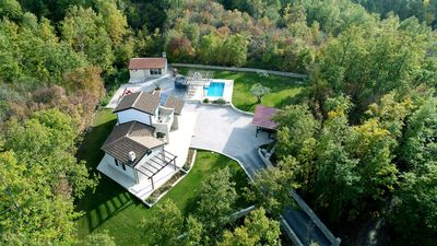 Photo for LUXURY VILLA IN CENTRAL ISTRIA WITH POOL BIG GARDEN PETS ALLOWED
