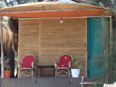 Photo for Bougainvilleapatnem beautiful eco friendly cottages