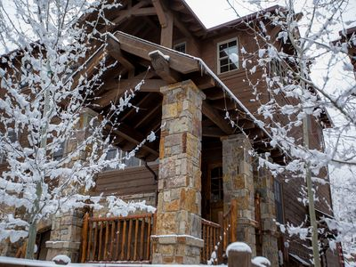 Photo for Beautiful Luxury Ski-In Ski-Out Condo On Big Mountain Steps from Base Lodge!!