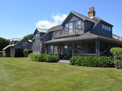 Photo for Grand 6 Bedroom House w/Ocean Views In Historic Sconset -walk to Beach & Village