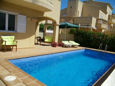 Photo for As good as new house with priv. Pool, close to the beach, quiet location