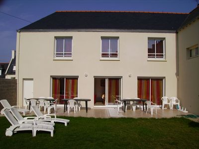 Photo for Large family house, enclosed garden, port of guilvinec, beaches, WE, week