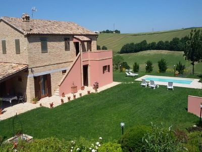 Photo for Villa with private pool near Jesi