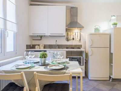 Photo for Cozy one-bedroom apartment in the heart of Como