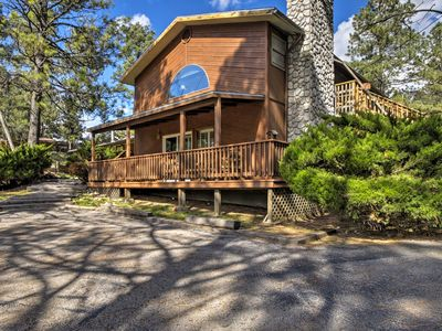 Photo for NEW! Ruidoso Cabin w/Pool Table & Deck Near Skiing