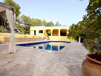 Photo for SA PENYA: Private pool, Wifi and mountain views.