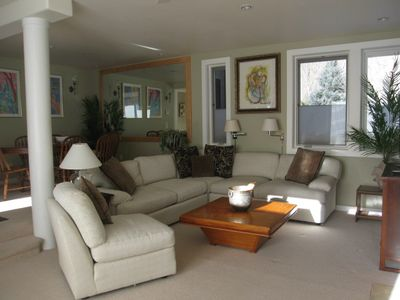 Photo for 4 Minute Walk To The Lift, Fish Off The Porch. 2 or 3 Bedroom rental option.