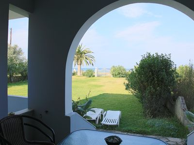 Photo for Maria Beach Apartment: Apartment On The Beach With 2 Bedrooms, Terrace, Views