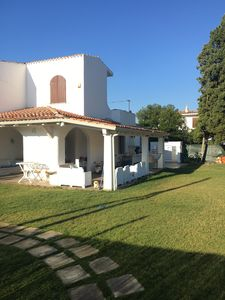 Photo for A splendid villa 200 meters from the sea with 300 meters of private garden
