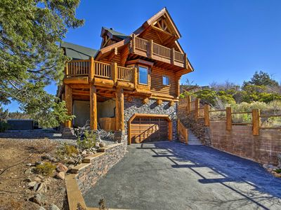 Photo for Big Bear House w/ Hot Tub & View of Bear Mountain!
