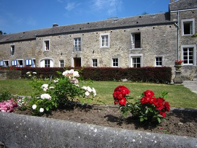 Photo for Characteristic holiday home on farm near Barvaux-Condroz