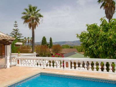 Photo for Beautiful villa with pool and gardens. Only 5 minutes from Palma and 10 from the beach