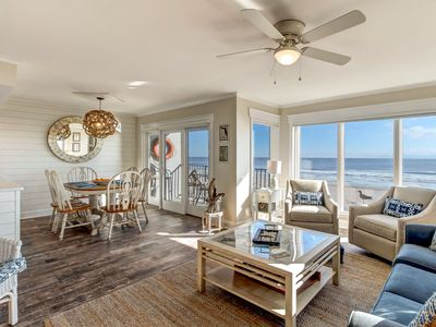 Photo for End unit with designer touches & extended Oceanviews!  Completely Renovated 2018.