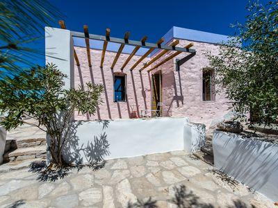 Photo for LouKouM, Cyclades villa with pool. The village of your holidays