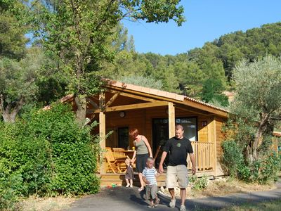 Photo for Cozy cottage with AC, located in the beautiful Provence