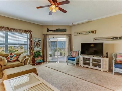 Photo for This 3 bedroom 2 bath condominium has all the comforts of home but is located on beautiful Amelia Island.  Ocean Park is located 1 block from the beach, right next door to Ft. Clinch State Park and 2 miles from Historic Centre Street.