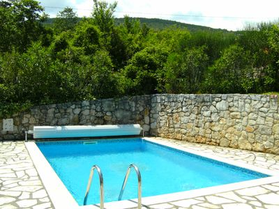 Photo for Detached holiday home with sea view and pool, for up to 6 persons