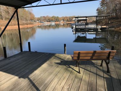 Photo for Deep Water On Lake Hartwell With Room to Spread Out- 3 Bedrooms