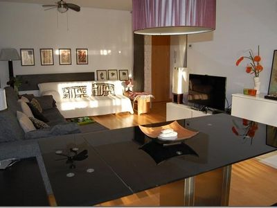 Photo for BEAUTIFUL APARTMENT VERY WELL DECORATED 500 MTS FROM THE BEACH