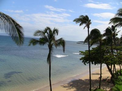 View from the Lanai!