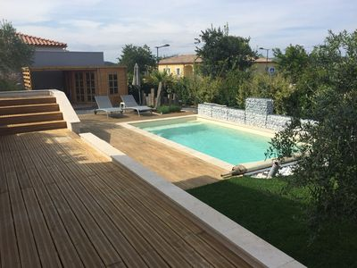 Photo for Air-conditioned villa with pool