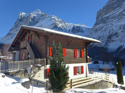 Photo for Apartment Chalet Bärglistock  in Grindelwald, Bernese Oberland - 2 persons, 1 bedroom