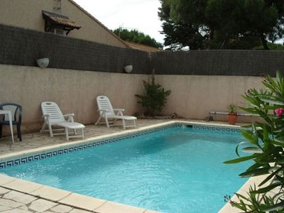 Photo for Recent 3 key holiday villa with private pool enclosed garden and terrace