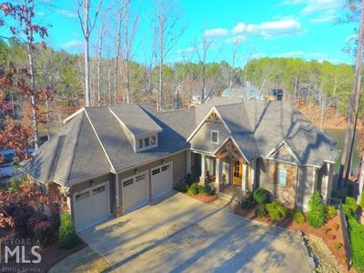 Photo for Masters Week - Luxury 6 BR Lakefront Home w/Spa in Harbor Club on Lake Oconee