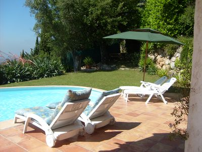 Photo for Private Villa with Pool/Garden in St Jeannet near Vence,St Paul,Nice & Antibes