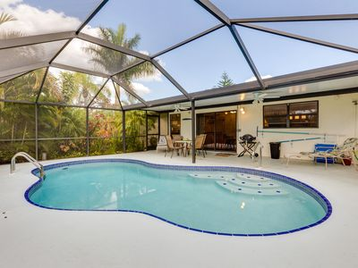 Photo for Cape Coral 2BD Tropical Garden House