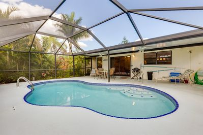 Cape Coral 2bd Tropical Garden House Caloosahatchee Images, Photos, Reviews