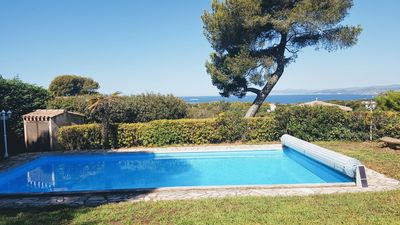 Photo for SUPERB VILLA NICHEE IN THE HEART OF A SECURE DOMAIN TWO STEPS FROM BRUSC