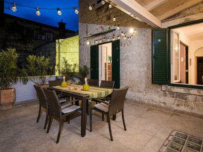 Photo for Luxury Apartment in the heart of Diocletian's Palace with large private terrace.
