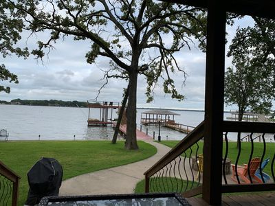 Back porch view