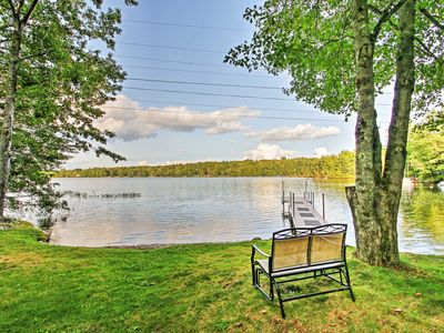 Photo for Lyman Home on Swan Pond w/Large Deck & 40-ft Dock!
