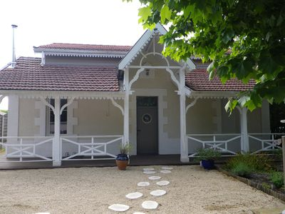 Photo for Bassin d'Arcachon - Beautiful house near the port of Cassy